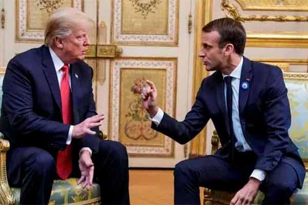 Трамп посмеялся над Макроном и мировыми войнами