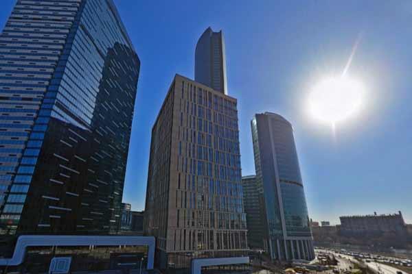 Федеральные министерства будут располагаться в одном здании