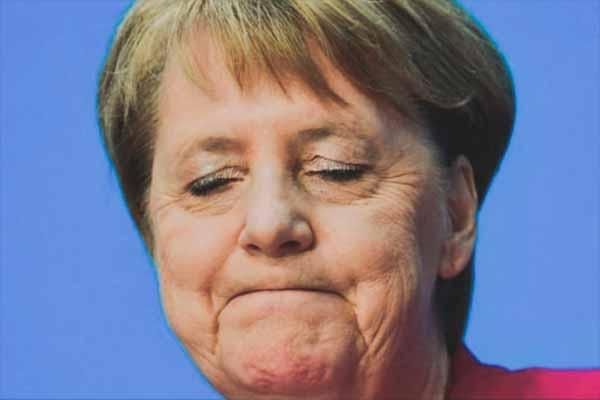 Фрау Меркель чудит