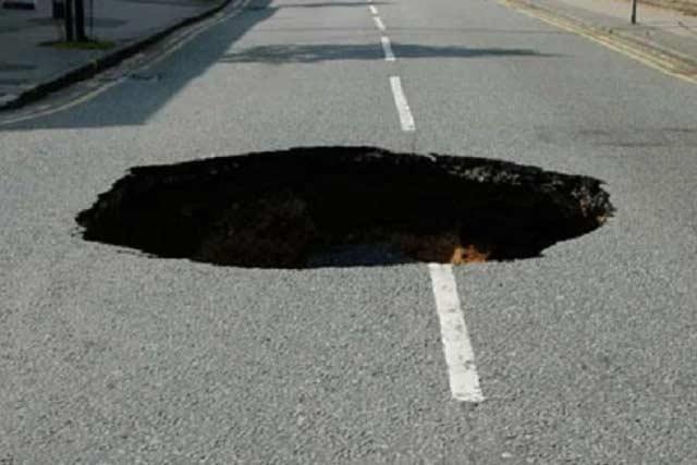 борьба с ямам на дорогах