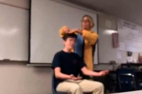 учитель поехала с катушек
