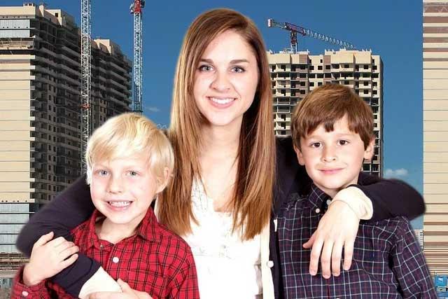 Государство оплатит часть ипотеки семьям с двумя детьми