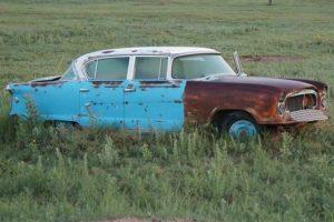 брошенные авто